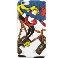 Satan rides  fixie! iPhone Case/Skin