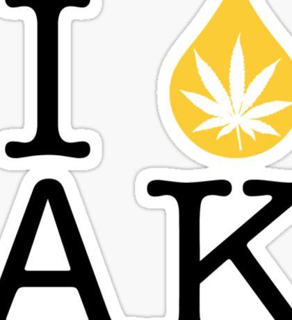I Dab AK (Alaska) Sticker