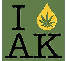 I Dab AK (Alaska) Photographic Print