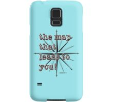 Maps Samsung Galaxy Case/Skin
