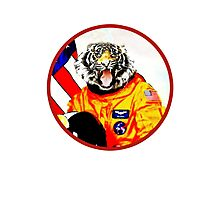 Astronaut Tiger Photographic Print