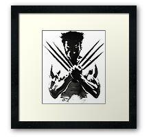 Wolverine painting  Framed Print