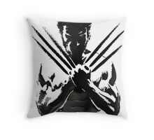 Wolverine painting  Throw Pillow