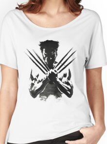 Wolverine painting  Women's Relaxed Fit T-Shirt