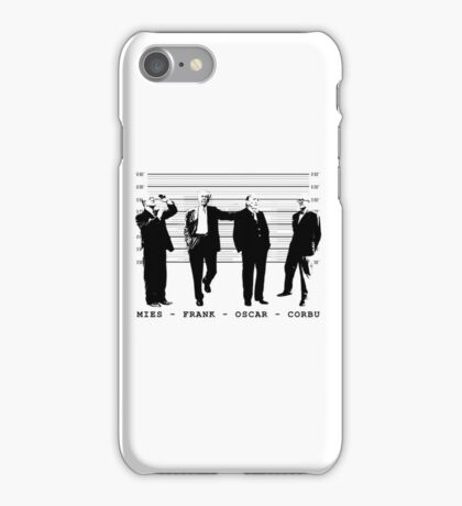 Architects Lineup Architecture T-Shirt iPhone Case/Skin