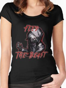 Feed The Beast Women's Fitted Scoop T-Shirt