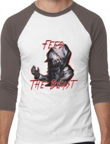 Feed The Beast Men's Baseball ¾ T-Shirt