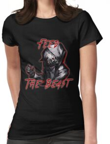 Feed The Beast Womens Fitted T-Shirt