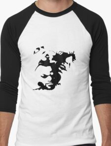 Ink stain Crazy Men's Baseball ¾ T-Shirt