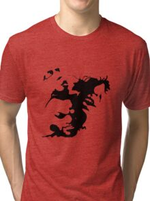 Ink stain Crazy Tri-blend T-Shirt