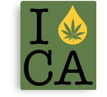 I Dab CA (California) Canvas Print