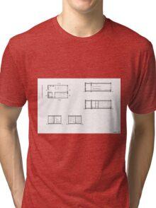 house details Tri-blend T-Shirt