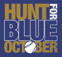 Hunt for Blue October by jerbing33