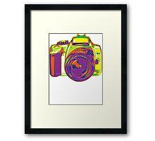 Color DSLR by Douglas Fresh Framed Print