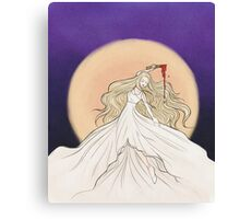 Prophecy Girl Canvas Print