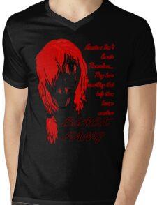 Anime Mens V-Neck T-Shirt
