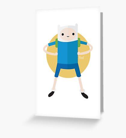 Finn! Greeting Card