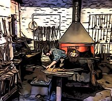 THE CLEVER IRONMONGER by TONYARTIST