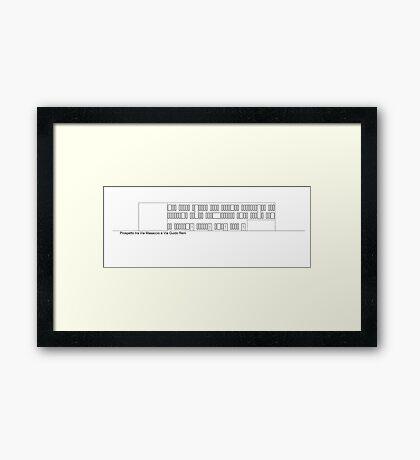 via masaccio - via guido reni Framed Print