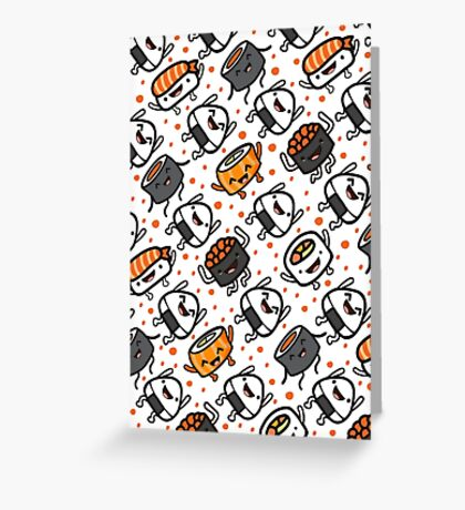 Sushi Party Greeting Card