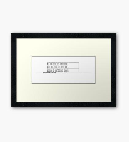 via guido reni Framed Print