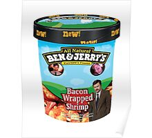 Ben and Jerrys Bacon Wrapped Shrimp Poster