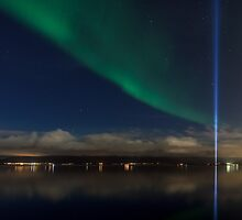 Lights of the night II by Ólafur Már Sigurðsson