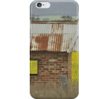 Red Brick & Yellow Fields iPhone Case/Skin