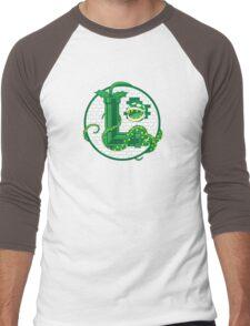 Super Luigi Emblem Men's Baseball ¾ T-Shirt