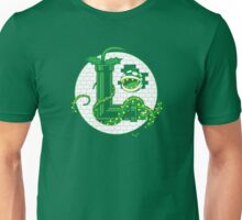 Super Luigi Emblem Unisex T-Shirt