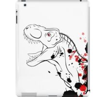 T-Rex (Red and Black) iPad Case/Skin