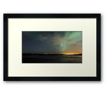 Lights of the night III Framed Print