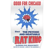 RAT KING FOR MAYOR Poster