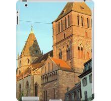 St Thomas Church, Strasbourg, France iPad Case/Skin