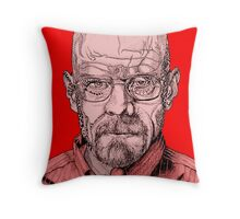 Walter White Portrait Throw Pillow