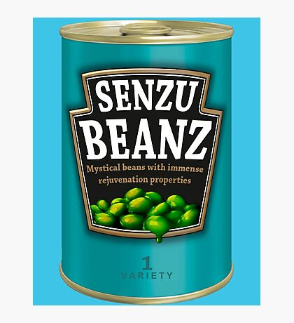 Can O' Senzu Beans Photographic Print