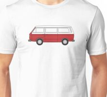 VW T3 Red Unisex T-Shirt