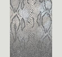 Shimmer (Silver Snake Glitter Abstract) Unisex T-Shirt