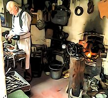 THE CLEVER SHOEMAKER by TONYARTIST