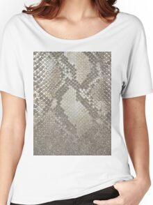 Shimmer (Gold Snake Glitter Abstract) Women's Relaxed Fit T-Shirt