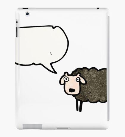 black sheep cartoon iPad Case/Skin