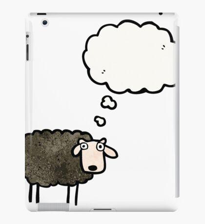 cartoon black sheep iPad Case/Skin