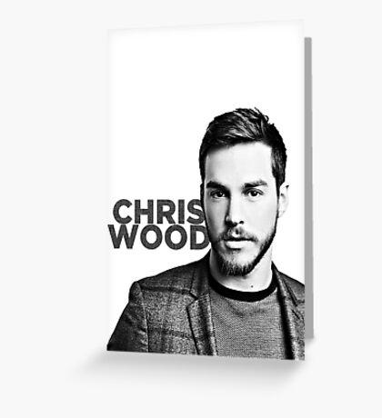 chris wood Greeting Card