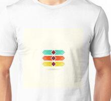 Abstract arrow3 Unisex T-Shirt