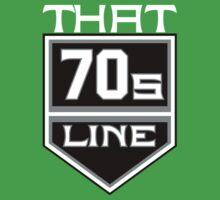 T7L Modern - White Text Kids Clothes
