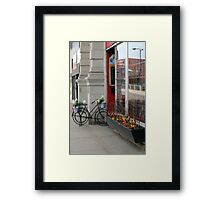 The Creperie Framed Print
