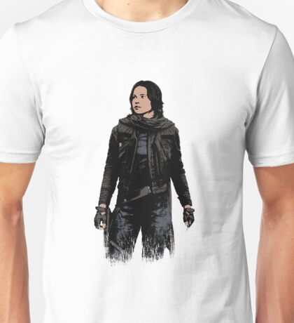 Jyn Erso - Star Wars: Rogue One - White Unisex T-Shirt