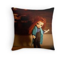 Diminutive Doctor Throw Pillow