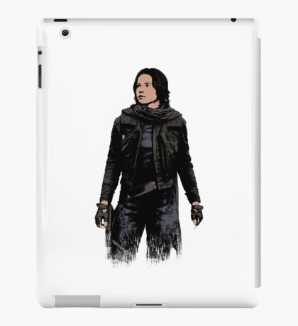 Jyn Erso - Star Wars: Rogue One - White iPad Case/Skin
