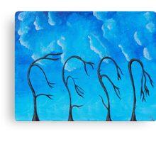 Weird Trees Canvas Print